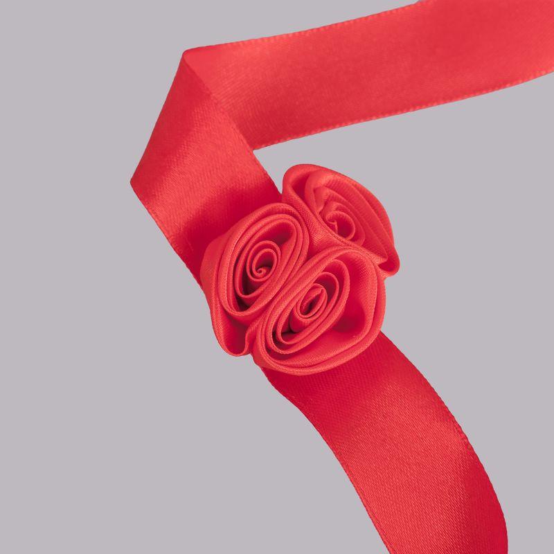 los angeles Adidași 2018 vândut în toată lumea Corsaj satinat trandafiri rosii, AMO 000 1041 - SelfEventS.ro
