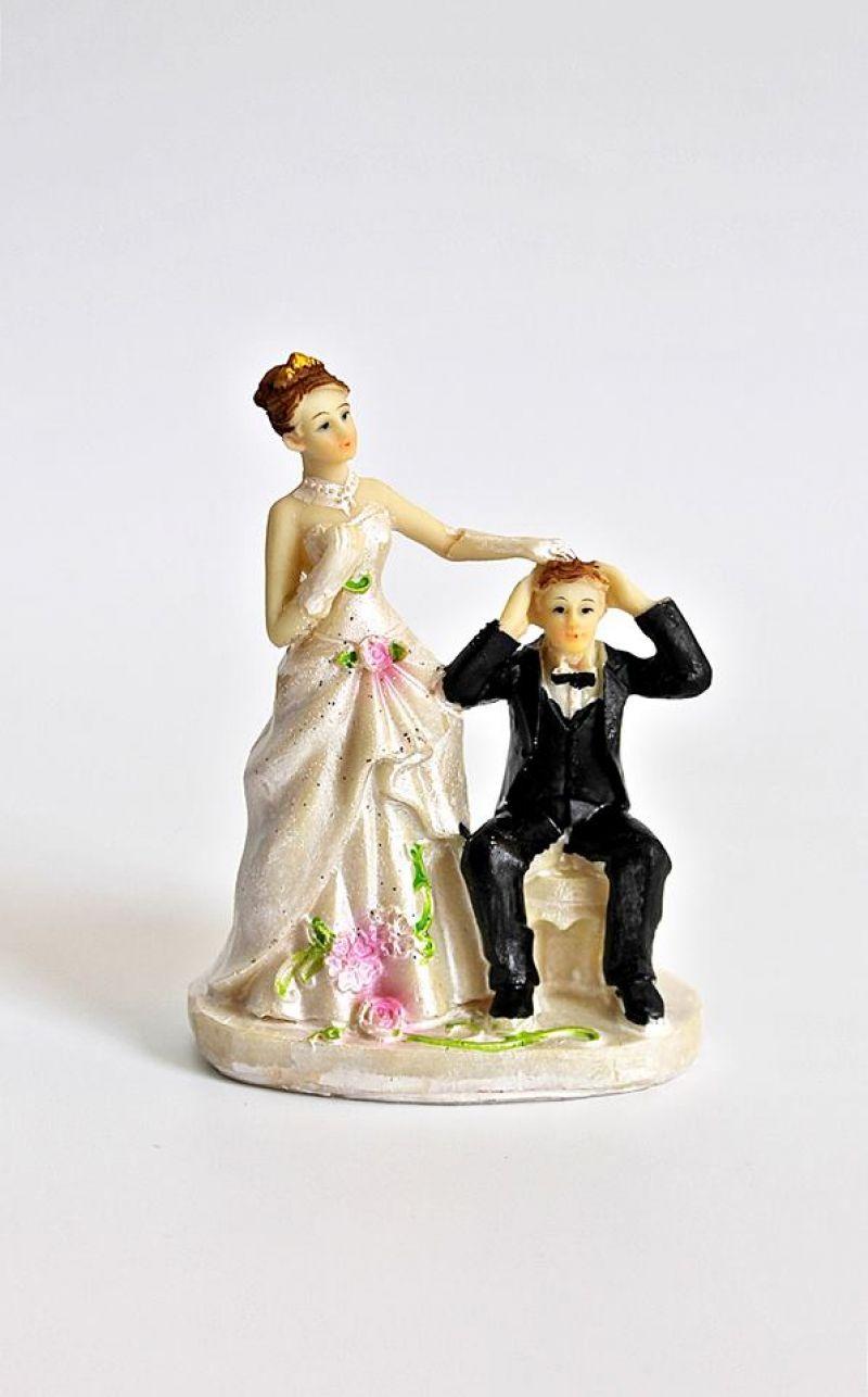 Decor Tort Nunta Figurine Mire Si Mireasa Clasice Si Amuzante