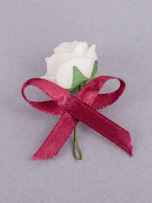 Cocarde trandafir ivory fundita grena
