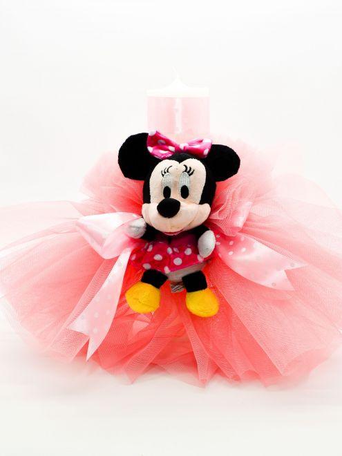 Lumanare botez fete Minnie Mouse