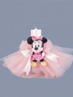 Lumanare Botez Fetite Minnie Mouse Amo 000 782 Selfeventsro
